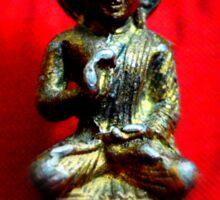 Ancient Bronze Statue - Buddha Sticker