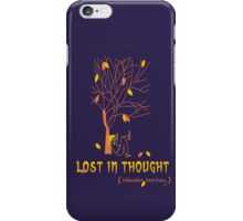 Lost In Thought - Illustration iPhone Case/Skin
