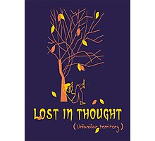 Lost In Thought - Illustration Photographic Print