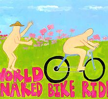 World Naked Bike Ride by withoutastitch