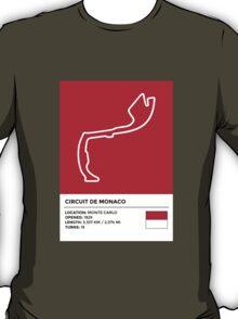 Circuit de Monaco - v2 T-Shirt