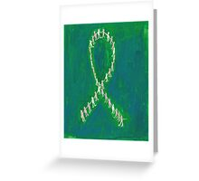 Holding Hands To Fight Breast Cancer Greeting Card