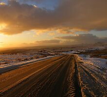 Dartmoor: The Road Across the Moor - Time to go Home by Rob Parsons