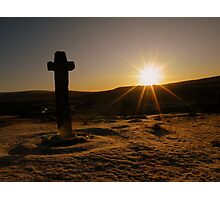 Dartmoor: First Light at Cadover Cross Photographic Print