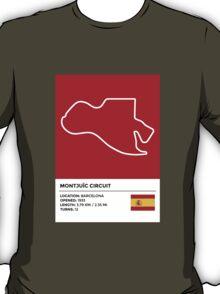 Montjuïc circuit - v2 T-Shirt