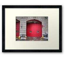 fire house Framed Print