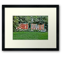 Corporate Decay Framed Print