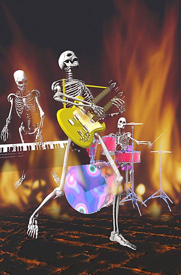 Dem bones #2 by Carol and Mike Werner