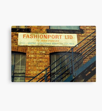 Fashion Is On The Way Up Metal Print