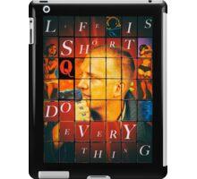 Life is Short... iPad Case/Skin