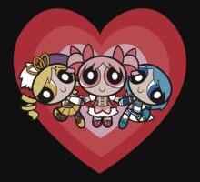 Puella Magi Girls One Piece - Short Sleeve