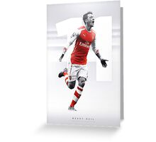 Mesut Ozil - The AFC Collection Greeting Card