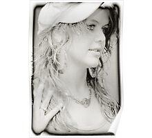 anne top model..by:glenn goulding copyright Poster