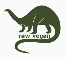 Raw vegan geek funny nerd by idulzul