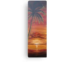 Mallory's Sunset Canvas Print
