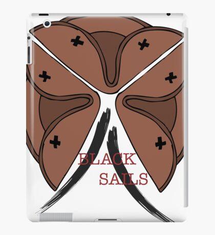 Black SAILS iPad Case/Skin