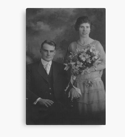 Dad 1924 Canvas Print