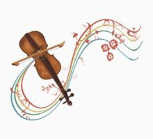 Rainbows and violins by Marie Magnusson