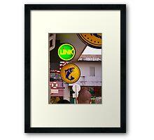Circles - Argentina Framed Print