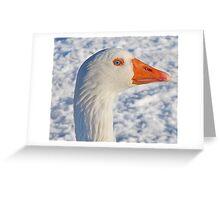 Snow goose Greeting Card
