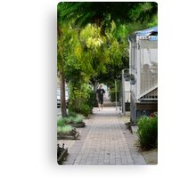 Greening country towns Canvas Print