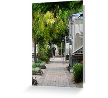 Greening country towns Greeting Card