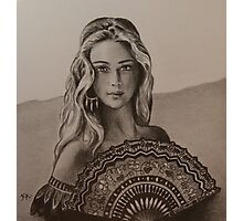 Girl from Santa Fe Photographic Print