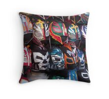 Lucha Libre Throw Pillow