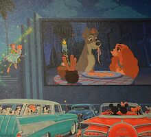 Disney Lady and the Tramp Disney Characters Classics by notheothereye