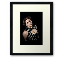 Late Night in Hollywood Framed Print