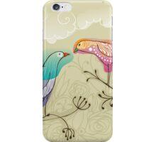pair of love birds iPhone Case/Skin