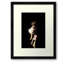 In Crept the Spider Framed Print