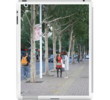 tall girl tall trees iPad Case/Skin