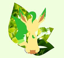 Leafeon by SilveryDreams