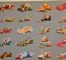 Disney Wreck It Ralph Vanellope Sugar Rush Cars Racers by notheothereye