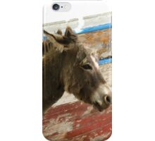Donkey - JUSTART © iPhone Case/Skin