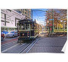 Christchurch Tram Poster
