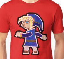 A Link Between Worlds Blue Unisex T-Shirt