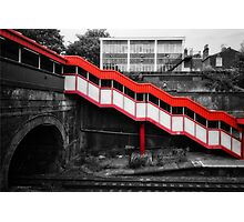 Kensall Green Tube Station Photographic Print
