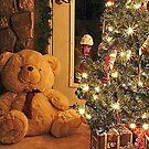 Christmas Teddy by Pat Moore