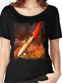 Koi in the Sky Women's Relaxed Fit T-Shirt