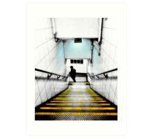 Kentish Town Tube Station Art Print