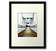 Kentish Town Tube Station Framed Print