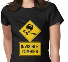 Invisible zombies Womens Fitted T-Shirt