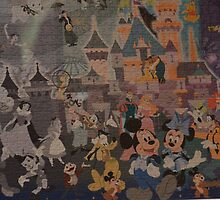 Disney Mickey Mouse Minnie Mouse Pluto Donald Duck Goofy by notheothereye