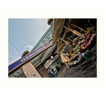 Kilburn Tube Station Art Print