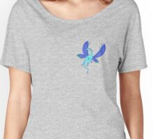 Dragon Fly, Blue Women's Relaxed Fit T-Shirt