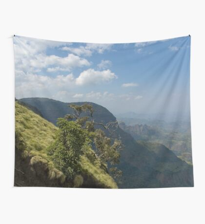 an awesome Ethiopia landscape Wall Tapestry