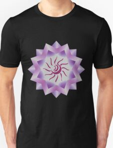 Sun Vector with Gradiation design Unisex T-Shirt