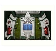 Kilburn Park Tube Station Art Print